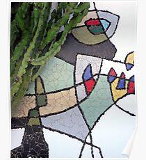 Mosaic Cesar Manrique Poster