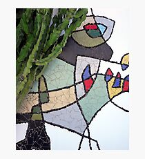 Mosaic Cesar Manrique Photographic Print