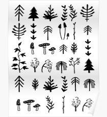 Autumn Pattern Poster