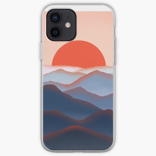 Mountain Sunrise Mist iPhone Soft Case