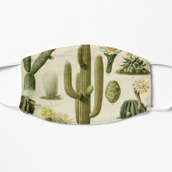 Naturalist Cacti Flat Mask