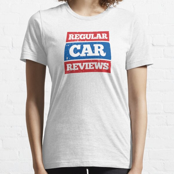 Regular Car Reviews Logo White Essential T-Shirt