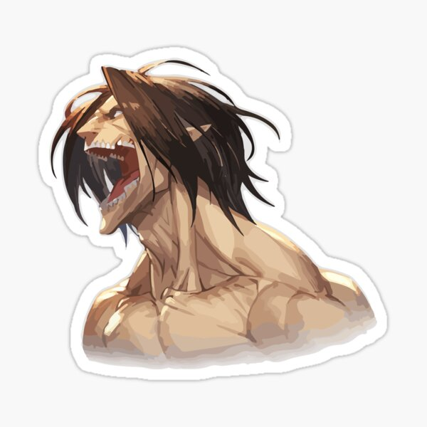 Attack  titans Sticker