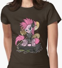 pinkie PonyROCK Women's Fitted T-Shirt