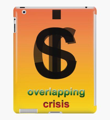 Crisis overlapping iPad Case/Skin