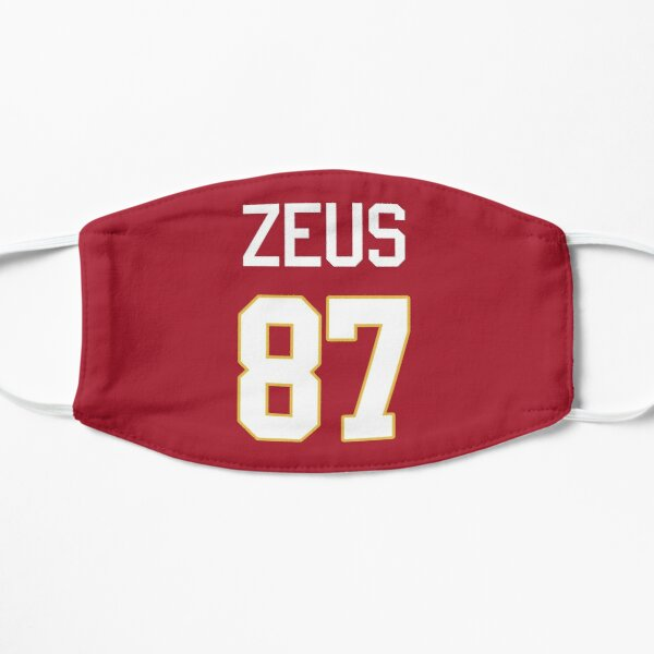 Limited Edition Zeus 87 Jersey Style Shirt, Kansas City Chiefs Shirt, Mug, Hoodie & Wall Tapestry! Mask