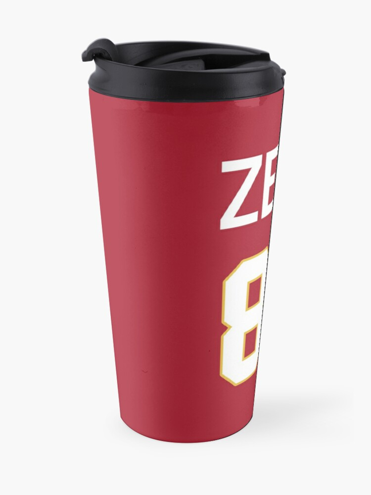 Alternate view of Limited Edition Zeus 87 Jersey Style Shirt, Kansas City Chiefs Shirt, Mug, Hoodie & Wall Tapestry! Travel Mug