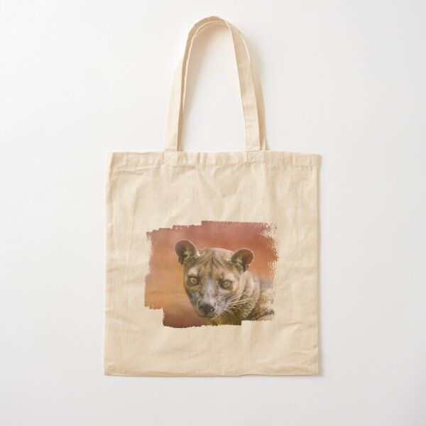 Sunset Fossa Cotton Tote Bag