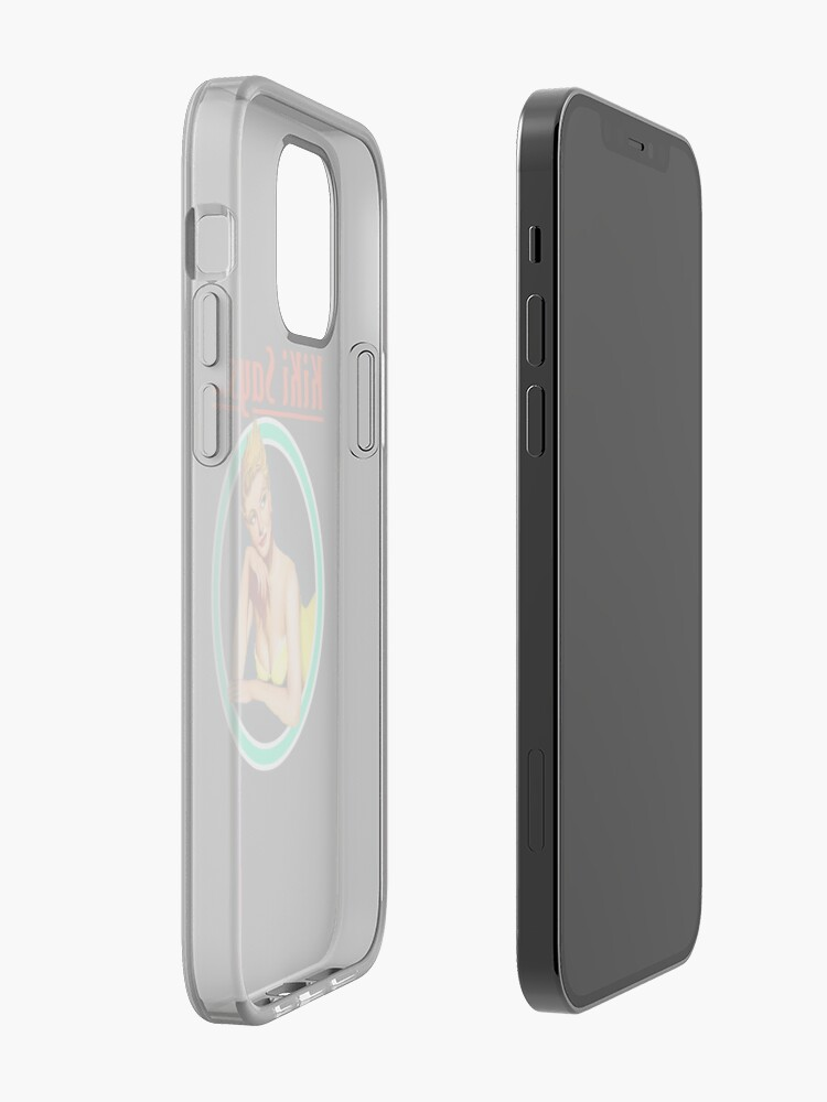 Alternate view of Kiki Says Logo Phone Case iPhone Case & Cover