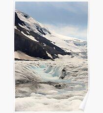 Glacier Blue Poster