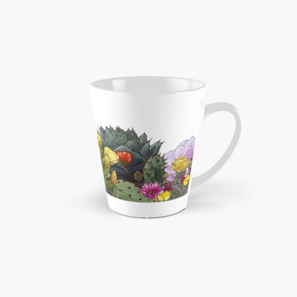 Desert Flowers Tall Mug