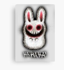 TheBunnyFromHell Canvas Print