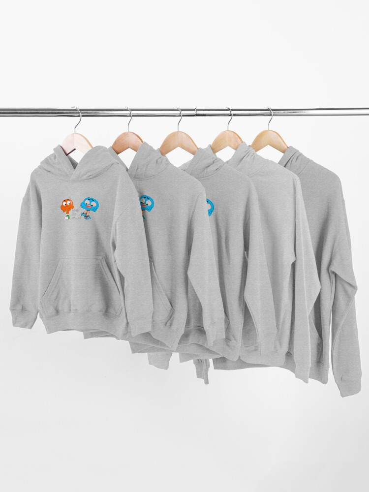 Alternate view of The amazing world of Gumball, Gumball and Darwin, What the what  Kids Pullover Hoodie