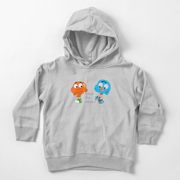 The amazing world of Gumball, Gumball and Darwin, What the what  Toddler Pullover Hoodie