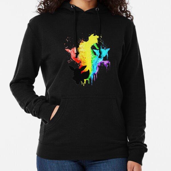 Rainbow Eeveelution Lightweight Hoodie