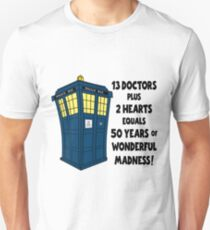 50 Years, 13 Doctors T-Shirt