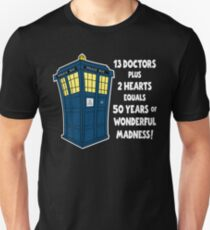 50 Years, 13 Doctors (2) T-Shirt