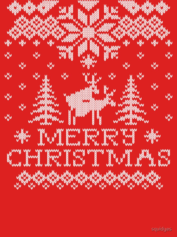 Ugly Sweater - Reindeer Humping | Unisex T-Shirt