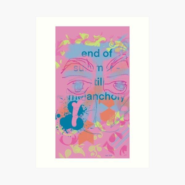 End of Summer - Still Melancholy Art Print
