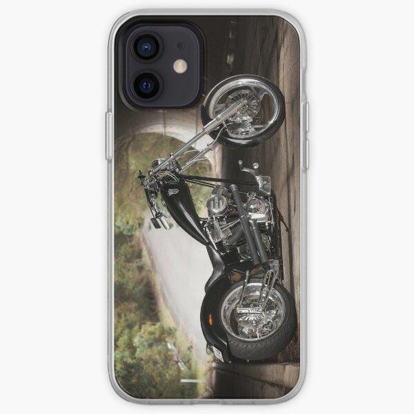 Adam's 124ci Harley Davidson Chopper iPhone Soft Case