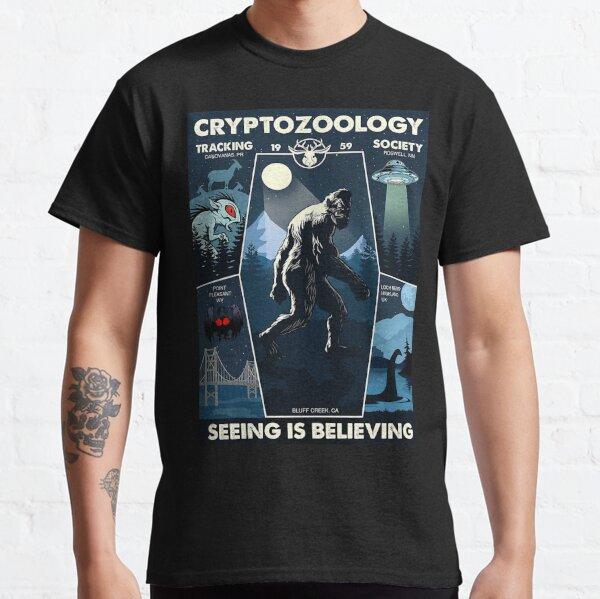Cryptozoology Tracking Society Bigfoot Classic T-Shirt