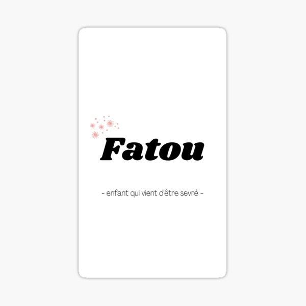 Fatou Sticker