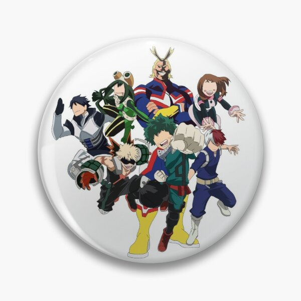 My Hero Academia Group Picture Pin