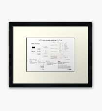 ELF101 a Linux executable walkthrough Framed Print