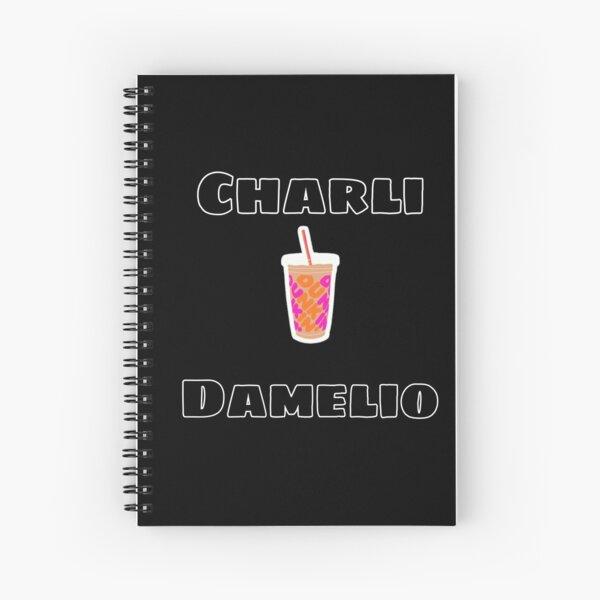 Conception de sweat à capuche Charli Damelio Cahier à spirale