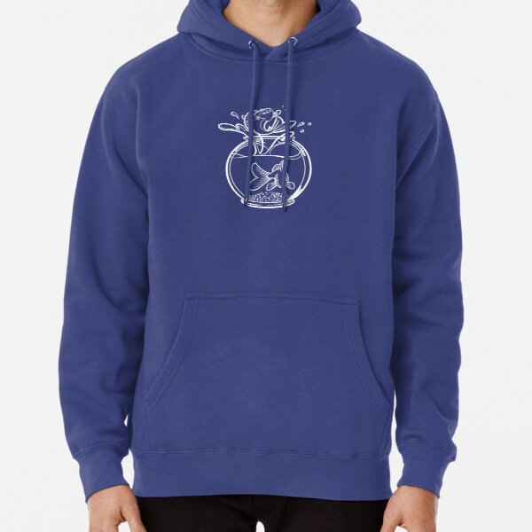 Jumping Goldfish Pullover Hoodie
