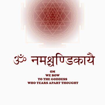 Sri Chakra with Invocation by lynchmob