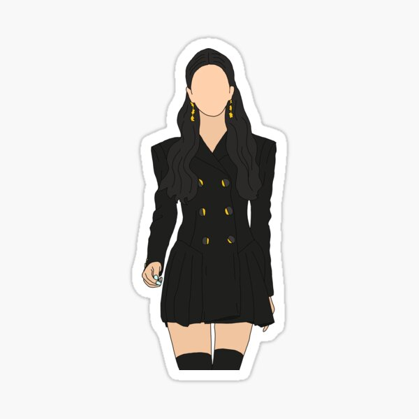 Ko Mun Yeong is a Stylish Queen ver. 2 || It's Okay Not To Be Okay Sticker