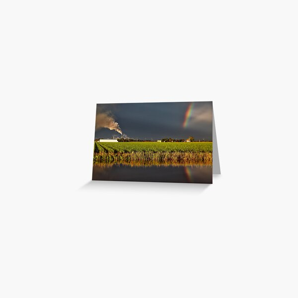 Jacobs Well Sunset Greeting Card