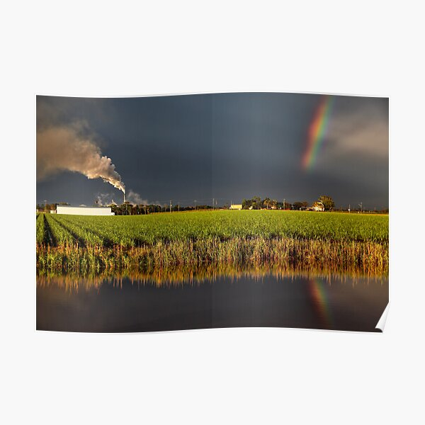 Jacobs Well Sunset Poster
