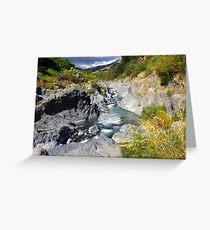 Alcantara Rapids Greeting Card
