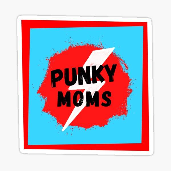 Punky Moms SPLAT! (Red) Sticker