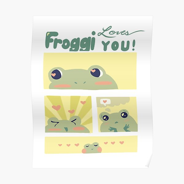 Froggy Loves You! Poster