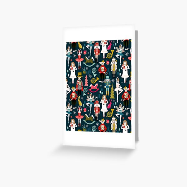 Nutcracker Ballet by Andrea Lauren  Greeting Card