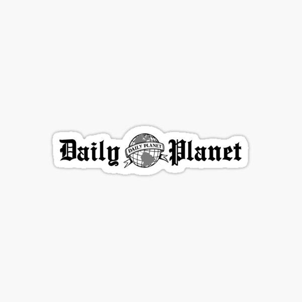 Daily Planet Pegatina