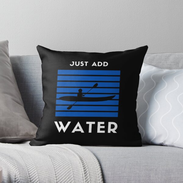 Just Add Water Throw Pillow