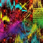 Don't Stop The Music - Abstract  Art + 23 Products Design  by haya1812