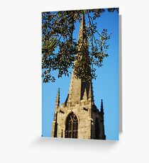 Sheffield Cathedral Greeting Card