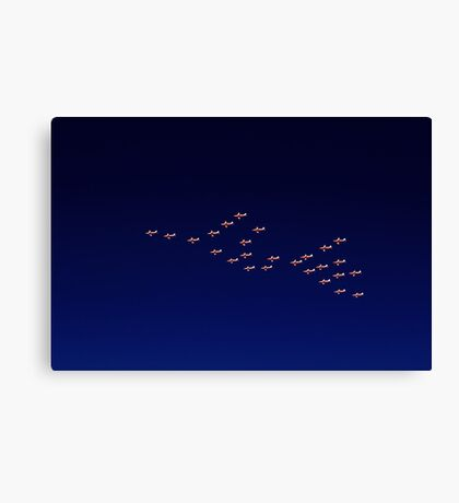 RAAF PC-9 Thunderbird Formation Canvas Print