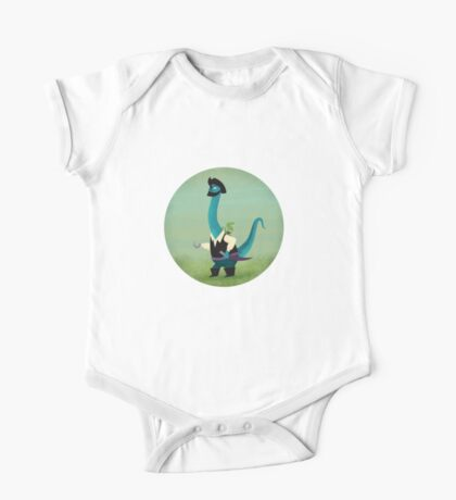 Captain Salty the pirate dinosaur Kids Clothes