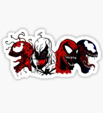 Symbiote Rushmore Sticker