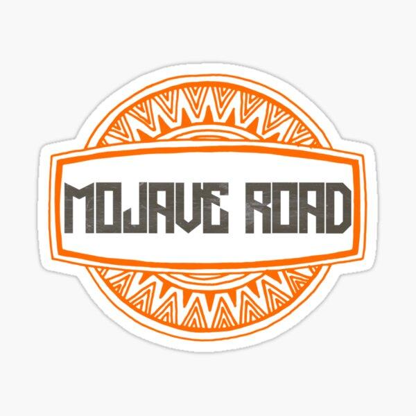 Mojave Road Badge  Sticker