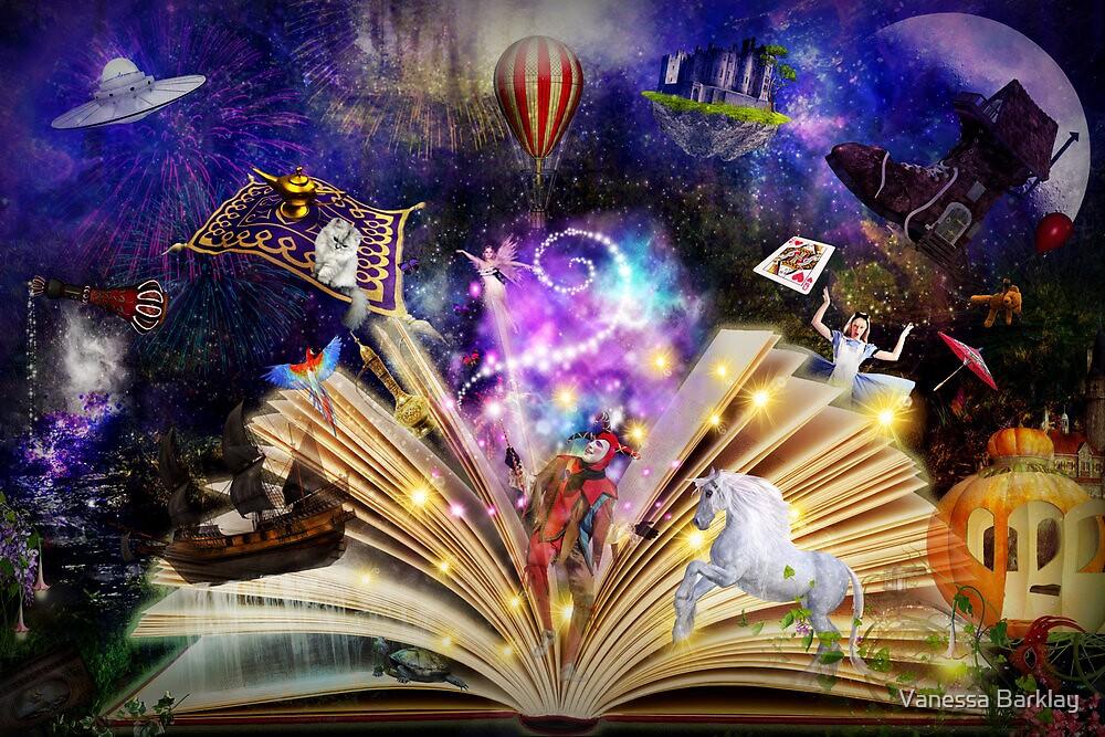 Fairytale Dreaming by Vanessa Barklay
