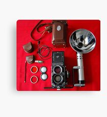 Rolleiflex Equipment Canvas Print