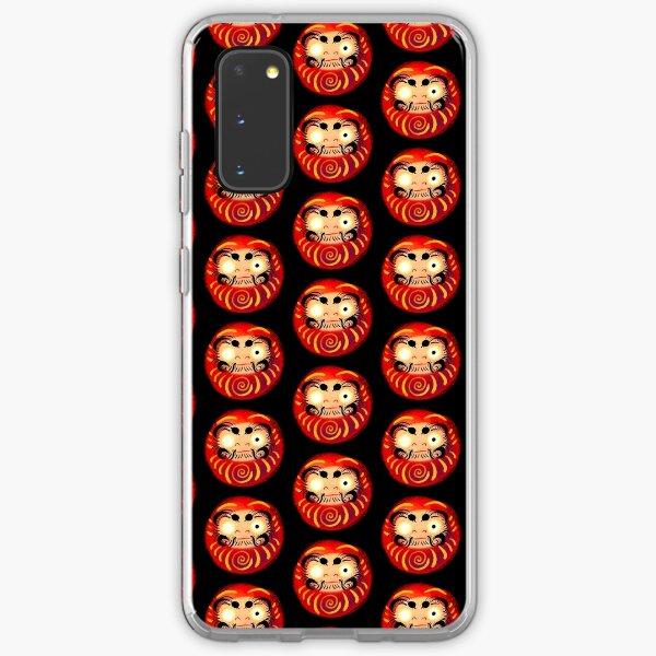 Big Red the Daruma on Black Samsung Galaxy Soft Case