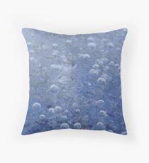 frozen ice Throw Pillow